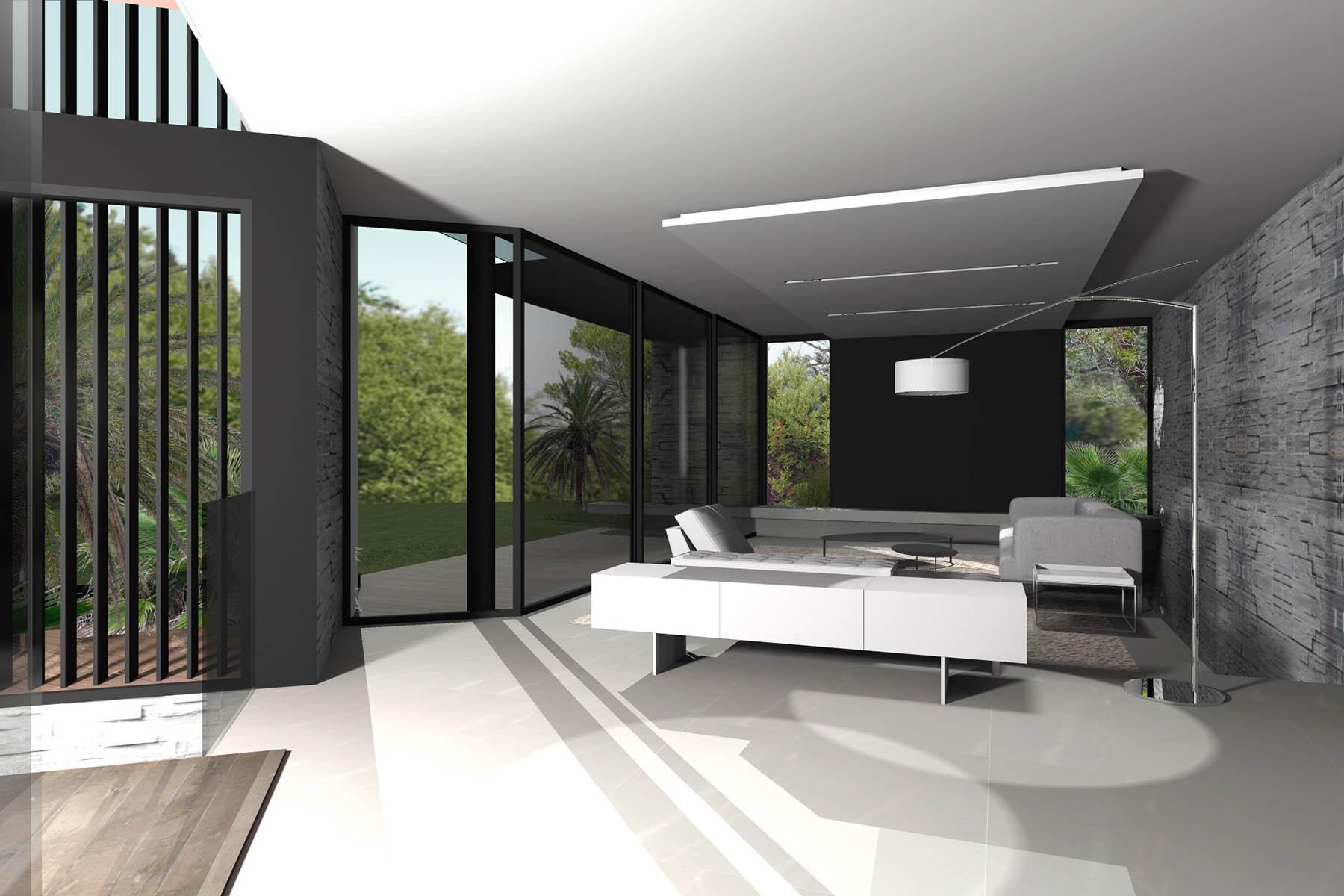 villa j aix en provence fr togu architecture. Black Bedroom Furniture Sets. Home Design Ideas