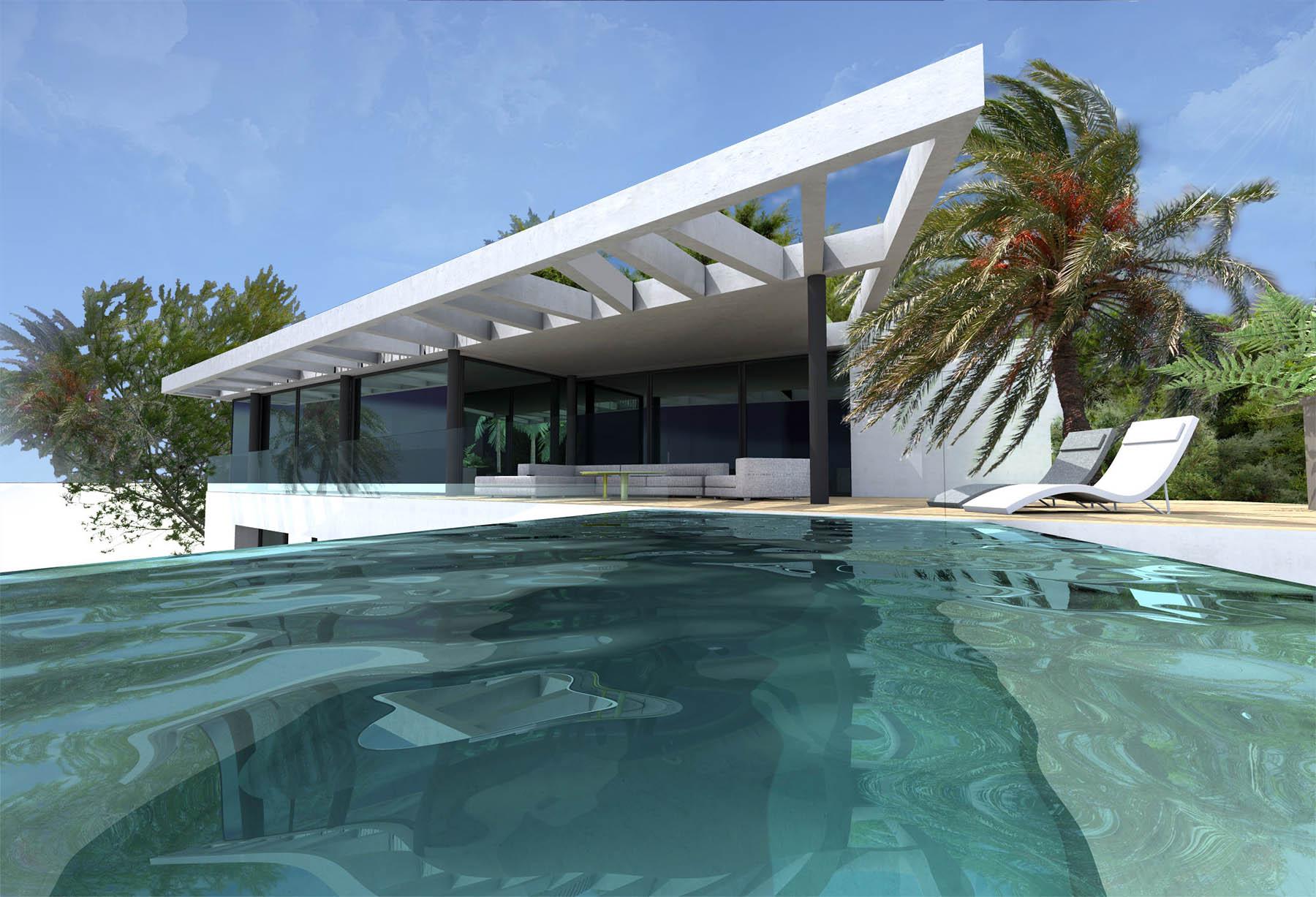 Villa 13 souvenir marseille fr togu architecture - Villa d architecte moderne ...