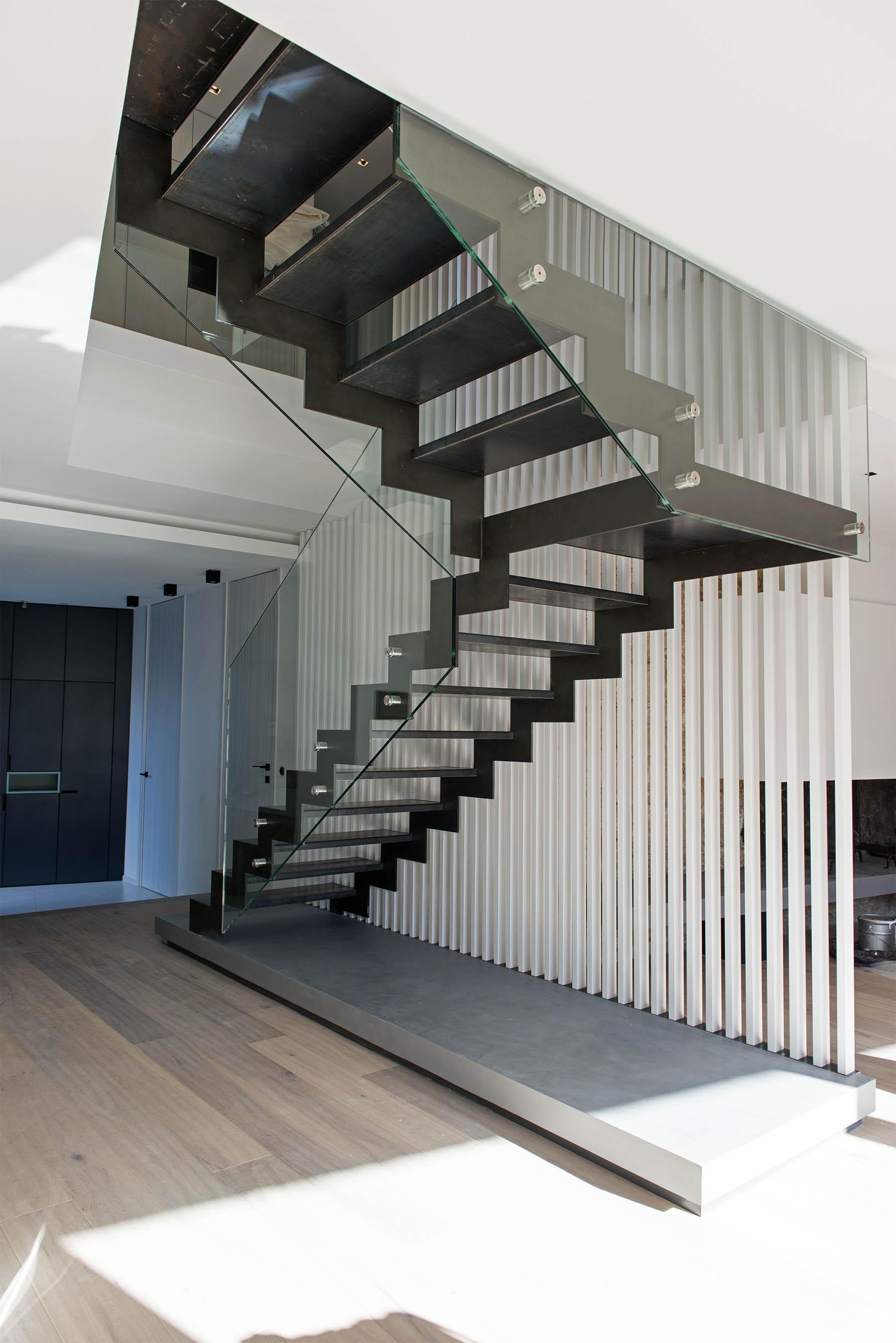 maison de ville cw cote bleue fr togu architecture. Black Bedroom Furniture Sets. Home Design Ideas