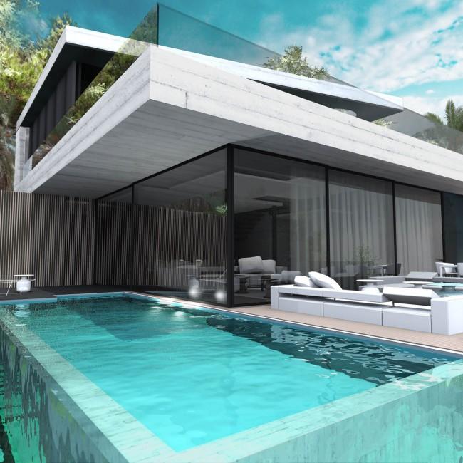 Villa Cube EST – COTE BLEUE – FR