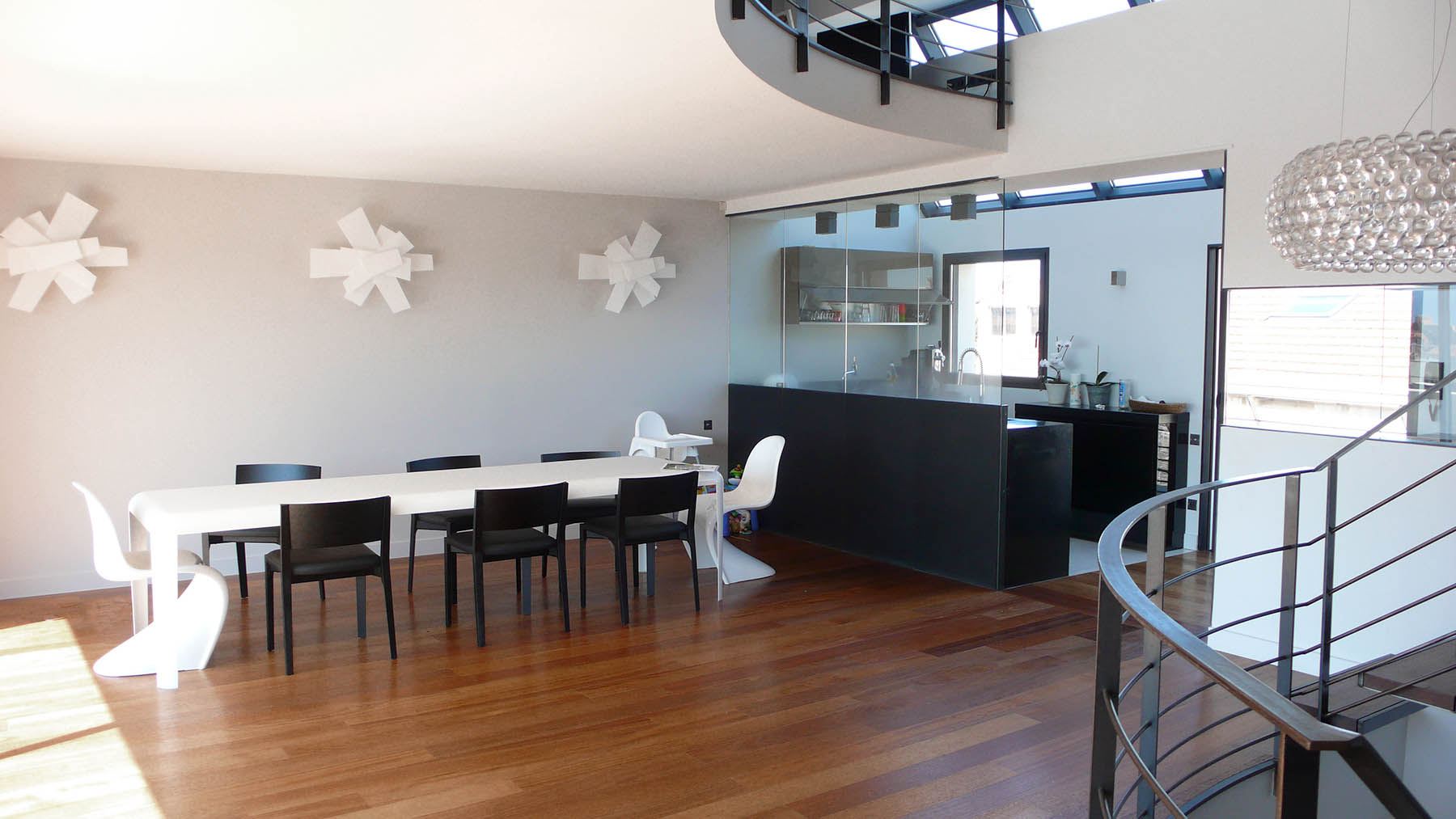 maison de ville e f marseille fr togu architecture. Black Bedroom Furniture Sets. Home Design Ideas