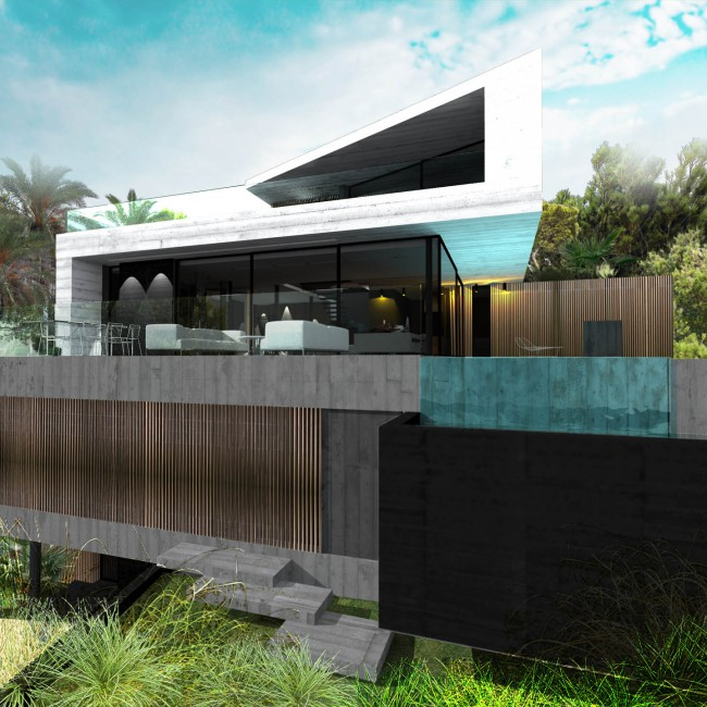Villa Cube OUEST – COTE BLEUE – FR